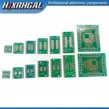 Placa pcb sop8 sop14 sop16 sop20 sop24, 10 unidades, placa conversor placa adaptadora tssop 8 14 16 20 24 28