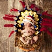 חדש אבזרי יילוד אביזרי צילום תינוק צילומים 0-3 M חדש נולד תלבושות סרוגה hat פעוטות תינוקות מכנסיים קצרים חליפה מצחיקה