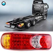 2 шт.. водостойкие 46 светодиодов задние фонари трейлер грузовик Стоп задний фонарь Авто сигнальная лампа предупредительные огни противотуманные лампочки