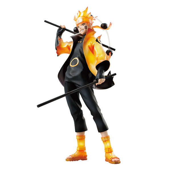 Naruto figures Rikudousennin Modo Uzumaki Naruto Figure Toy 18CM naruto shippuden action figures Naruto Kyuubi Doll D16 3