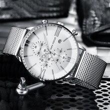 2019 Luxury Quartz Watches Men Brand MINI FOCUS Mens Business Sport Watch Waterproof Chronograph Wristwatches Relogio Masculino