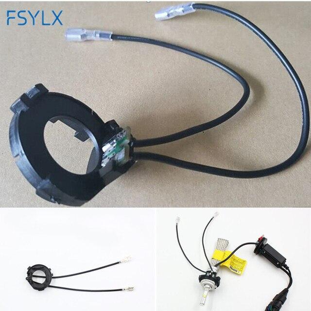 fsylx 10 st cke led h7 birne halter adapter lampensockel. Black Bedroom Furniture Sets. Home Design Ideas