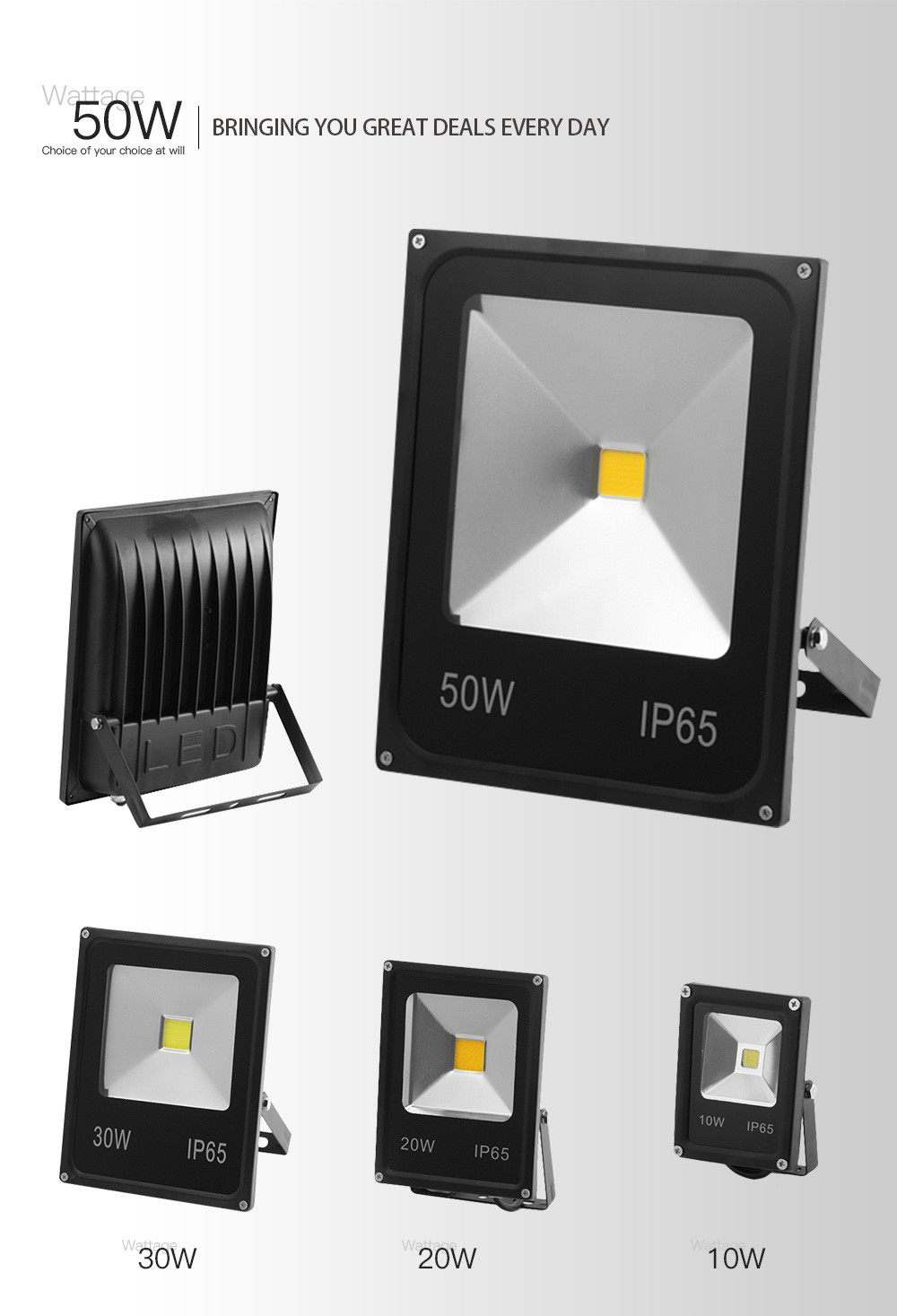 Led Outdoor Light 30w