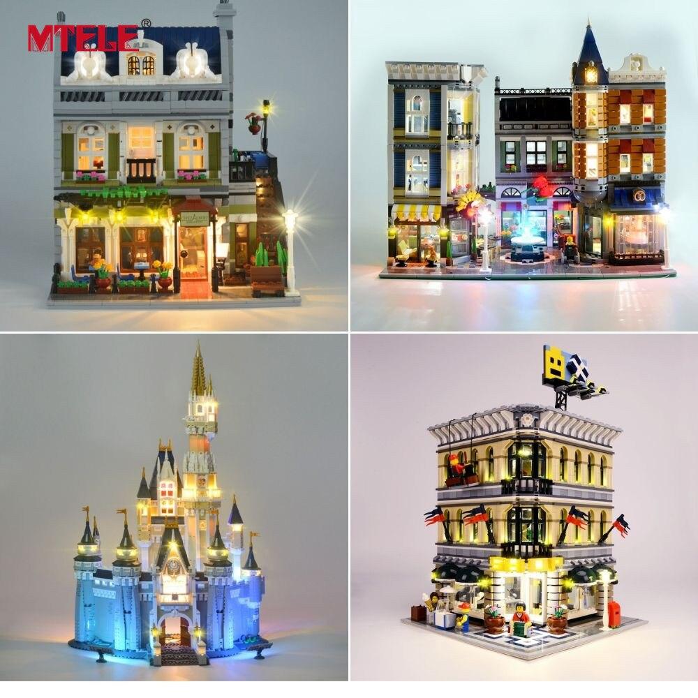 Image 4 - MTELE Luce Kit SOLO Per Creator Compatibile Con Lego  10182/10224/10211/10260/10243/10246  /10218/71040/10251/10264/10255/10232-in Blocchi da Giocattoli e hobby su