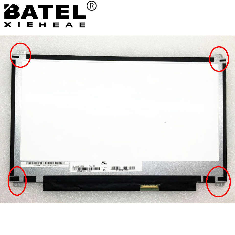 N116BGE-E32 Matte Ontspiegeld 30 pin Slim 1366*768 HD Laptop Lcd-scherm LCD Matrix LED Display en DOWN Schroefgaten