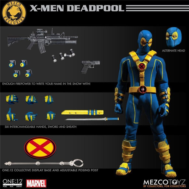 цена на 15CM Mezco Toyz 6-inch Commoner Can Move Dead 2 Generations DOLL Action Collectible Statue Toy Figure