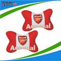 Fashion 2Pcs Arsenal FC Football Headrest Neck Pillow Car Auto Seat Cover Head Neck Rest Cushion Headrest Pillow Free Shipping