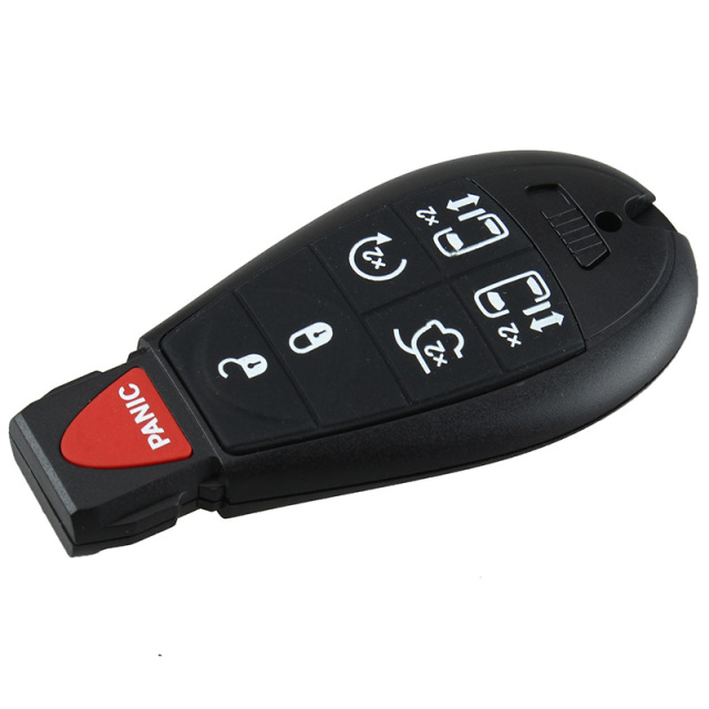 2008 chrysler town and country key fob not working