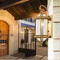 Водонепроницаемый напольный Бра Открытый сад лампа балкон бра большой бра для отель Античная бронзовая настенные светильники уличные парк...