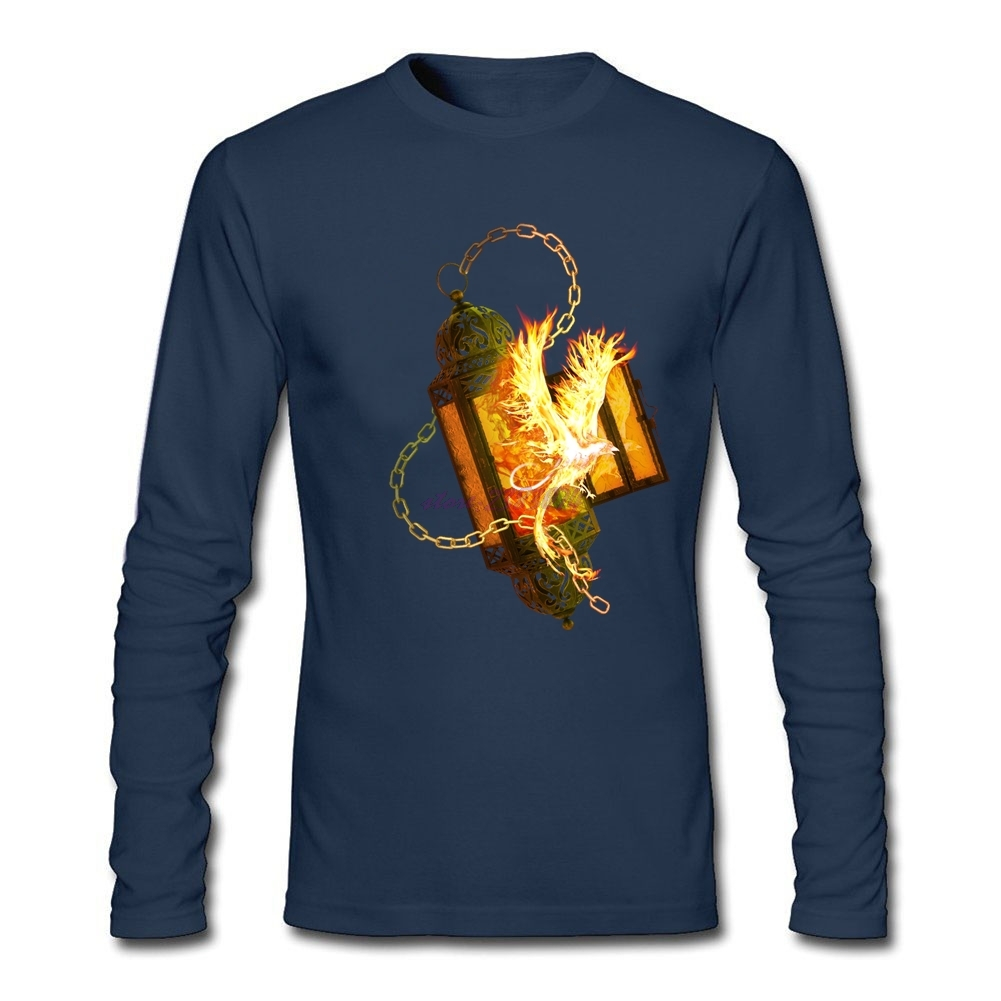 Design your own t shirt dress - Handsome Man Long Sleeve Custom Dress Shirts Fenix Lantern Men Organic Cotton T Shirt Printed Wiht Heathly Ink Plain T Shirts