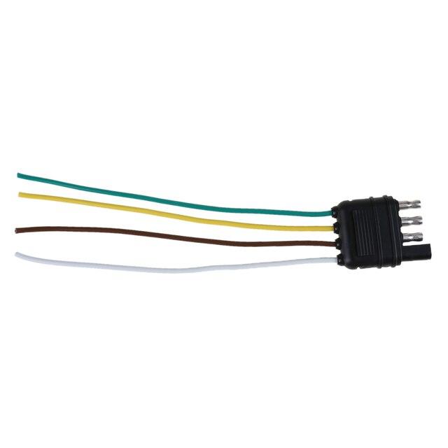 Anhänger Stecker 4 Pole Pin US Standard Lkw Flachkabelbaum Kit Seite ...