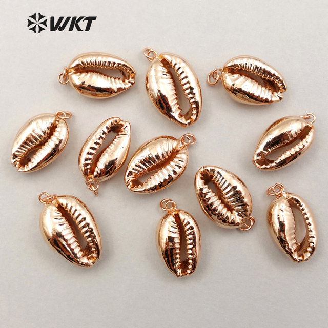 Wt jp028 wholesale tiny natural rose gold dipped shell pendant wt jp028 wholesale tiny natural rose gold dipped shell pendant fashion lovely slice cowrie shell aloadofball Image collections