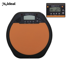 New Arrival Digital LCD Screen Electric Electronic Drum Pad For Training Practice Beating Tap Tempo Metronome