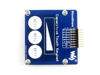 Capacitive Touch Keypad Development Board Module Kit 3 Keys + Linear Sensor Onboard