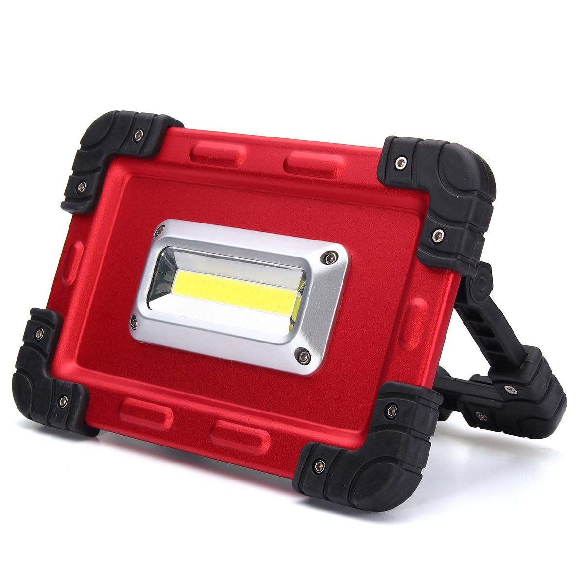 <font><b>Msiing</b></font> 30 Вт USB удара Портативный фонари Spotlight 32 светодиодный Перезаряжаемые светодиодный свет потока работы палатка открытый лампа DC3.7V