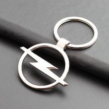 Hot Top Fashion Metal Car Logo key key chain for Opel auto pendant Key Holder Auto Car Accessories