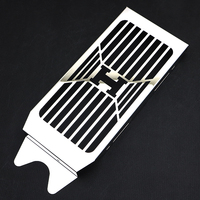Motorcycle Radiator Grille Grill Guard Fuel Tank Protection For HONDA Shadow VT VLX 600 VT600 VLX600 Steed 400 1988 2007