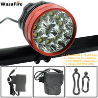 WasaFire 20000lm 12* XM L T6 LED Bicycle Light Cycling Bike Light Headlight Flashlight Fishing Frontlight Frontlamp 3 Modes Lamp