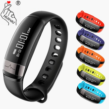 HUINIU Sport font b Smart b font Band Waterproof Bluetooth Bracelet Activity Tracker Heart Rate Monitor