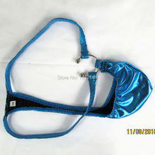 c1f1d40a5821 Shiny Mens Sexy Pouch String Thong Underwear Metallic Coated G3243(China)