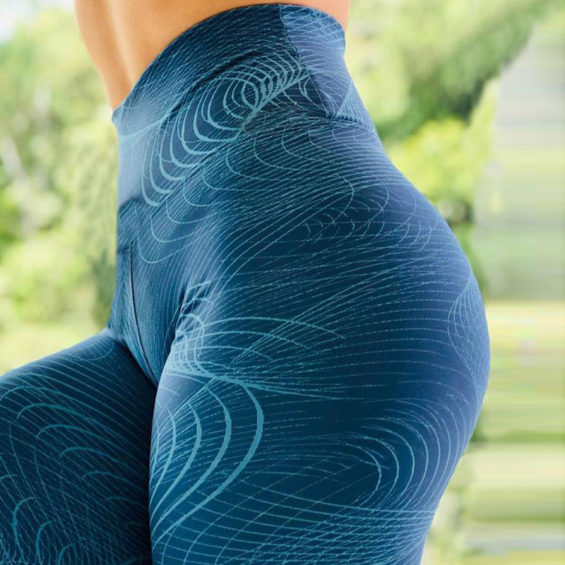 NFNMM 11 color printed yoga pants leggings yoga clothes female sportswear Quick Dry Running Sport gym leggings fitness Trouser 6