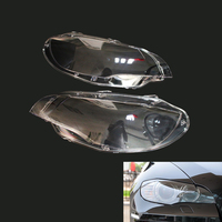 2PCS Headlight Cover Lens Shell Replace for BMW E71 X6 08 14 63117271371 63117271372 Left & Right