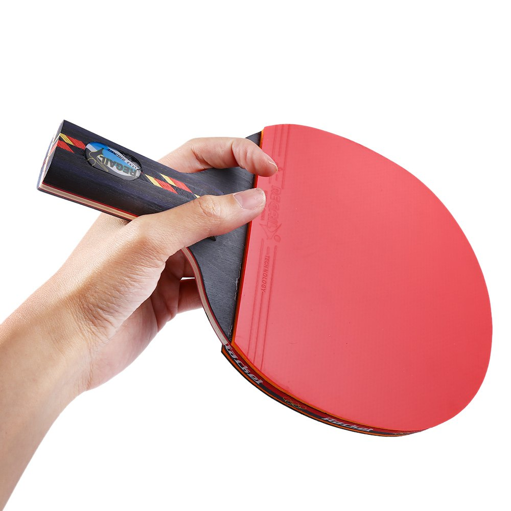 regail indoor table tennis accessory d003 red table tennis racket ping pong paddle table tennis