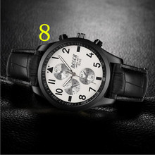 Мужские Бизнес Кварцевые часы, встроенный календарь водонепроницаемый, отличное качество 57