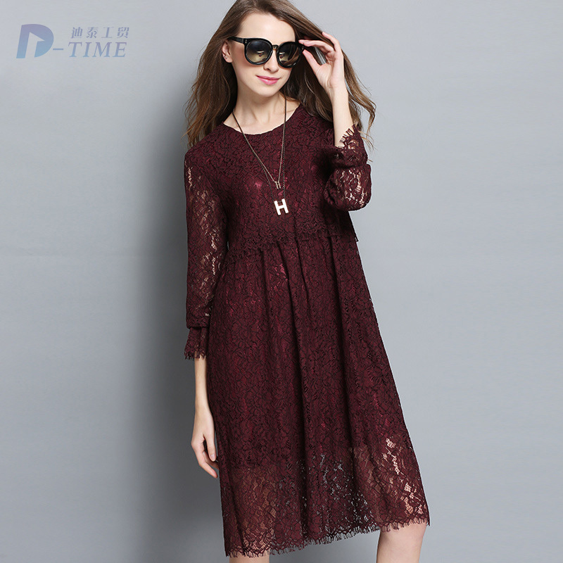 Popular Lace Dress Designs-Buy Cheap Lace Dress Designs lots from ...