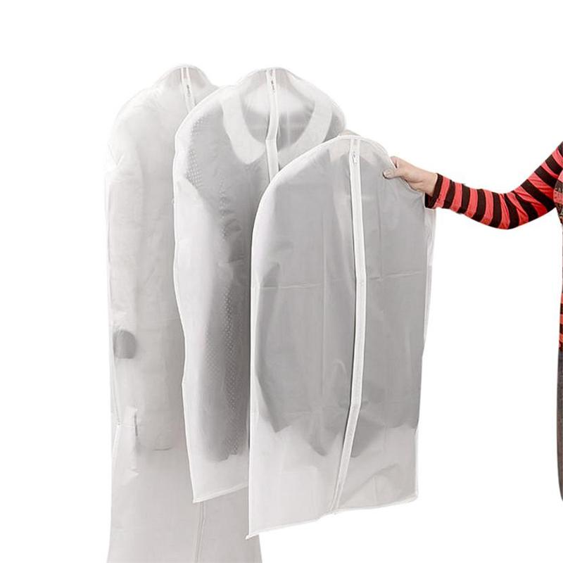 New Creative Reuse Garment Suit Dress Jacket Clothes Coat Dustproof Cover Protector Travel Bag  Wear-resistant hot Bags C0226   05