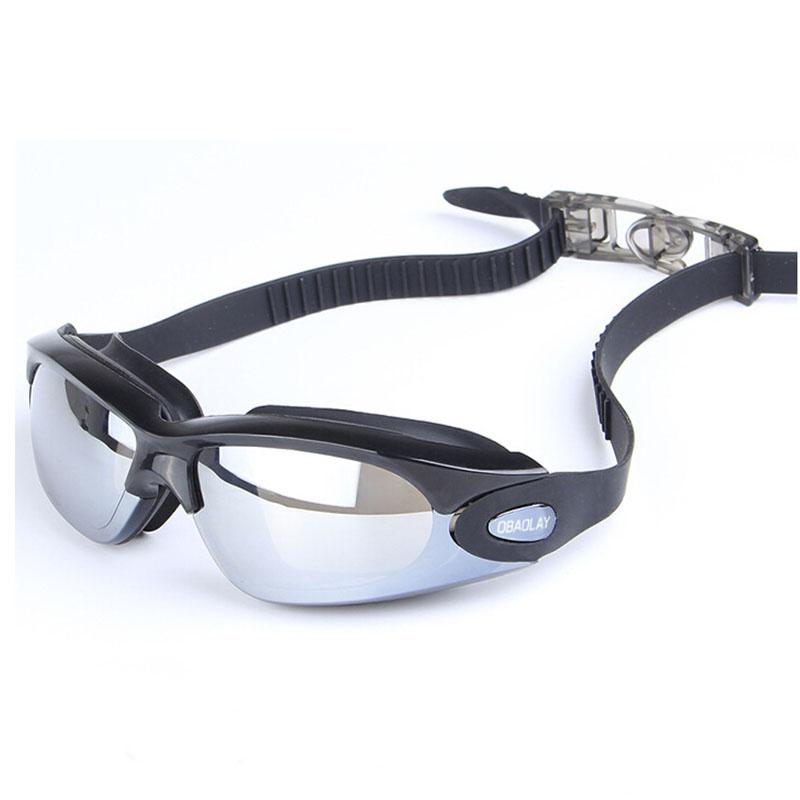 The New Electroplating Goggles Waterproof Anti-Fog Men And Women General Big Box Swimming Glasses Safety Protection For Eyes