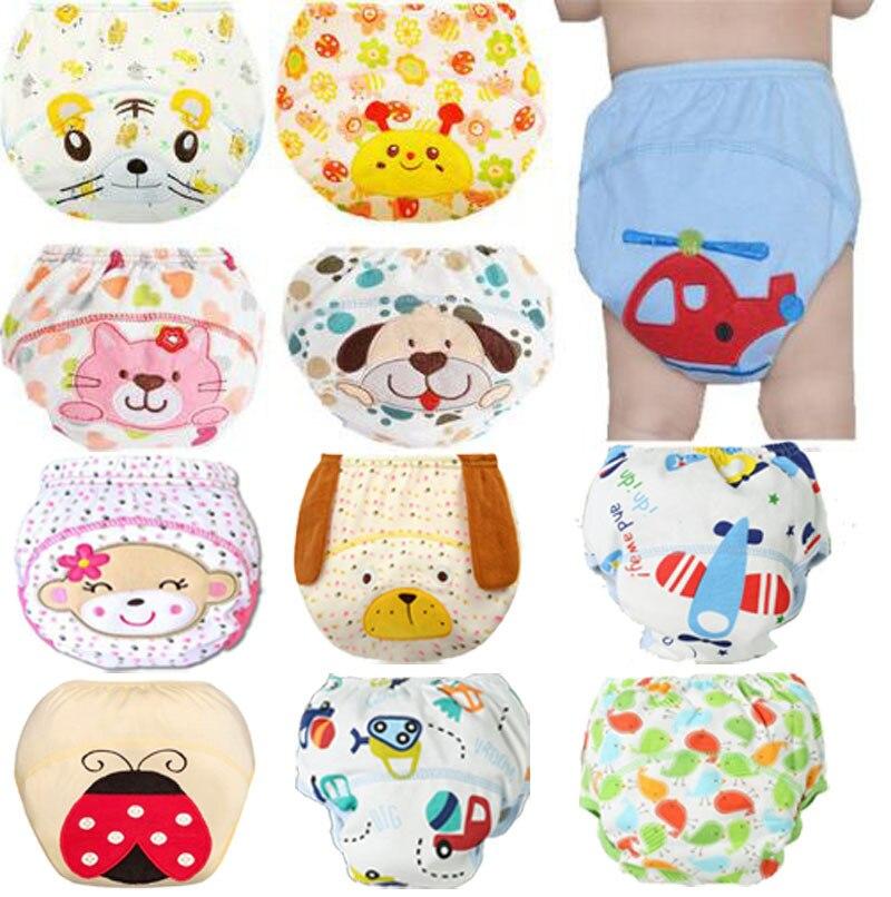 1Pcs Cute Baby font b Diapers b font Reusable Nappies Cloth font b Diaper b font