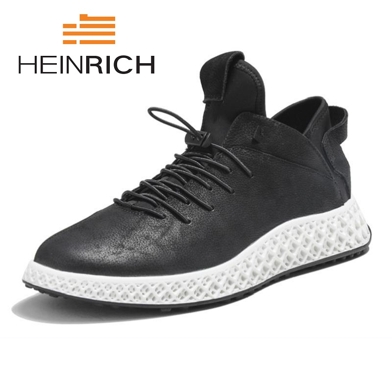 HEINRICH 2018 Summer Shoes Men Fashion Mixed Color Platform Flats Breathable Casual Lightweight Shoes Man Chaussure Sport HommeHEINRICH 2018 Summer Shoes Men Fashion Mixed Color Platform Flats Breathable Casual Lightweight Shoes Man Chaussure Sport Homme