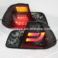 For BMW E46 4 Doors 320 328 325 LED Tail Lamp rear lights 2001-2005 Year Smoke Black Color SN