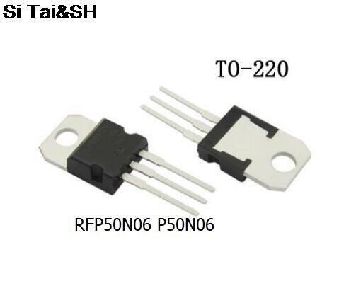 10pcs/lot RFP50N06 FP50N06 50N06 TO-220 60V 50A New Original