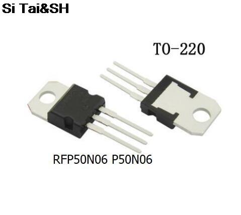 5pcs/lot RFP50N06 FP50N06 50N06 TO-220 60V 50A New Original