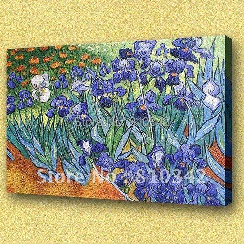 Van Gogh olejomalba nástěnné dekorace umění dojem květinové obrazy U2VG08