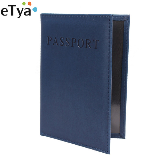Etya Travel Passport Cover Wallet Women Fashion Business Card Holder