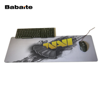Pattern DIY Custom Made Durable Gaming Anti Slip Silicone Mouse Pad Natus Vincere Art Game Oft
