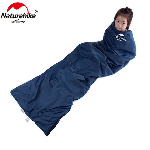 Naturehike 2 Persons Sleeping Bag Envelope Type Splicing Portable Outdoor Ultralight Sleeping Bag Spring Autumn Camping Hiking 3