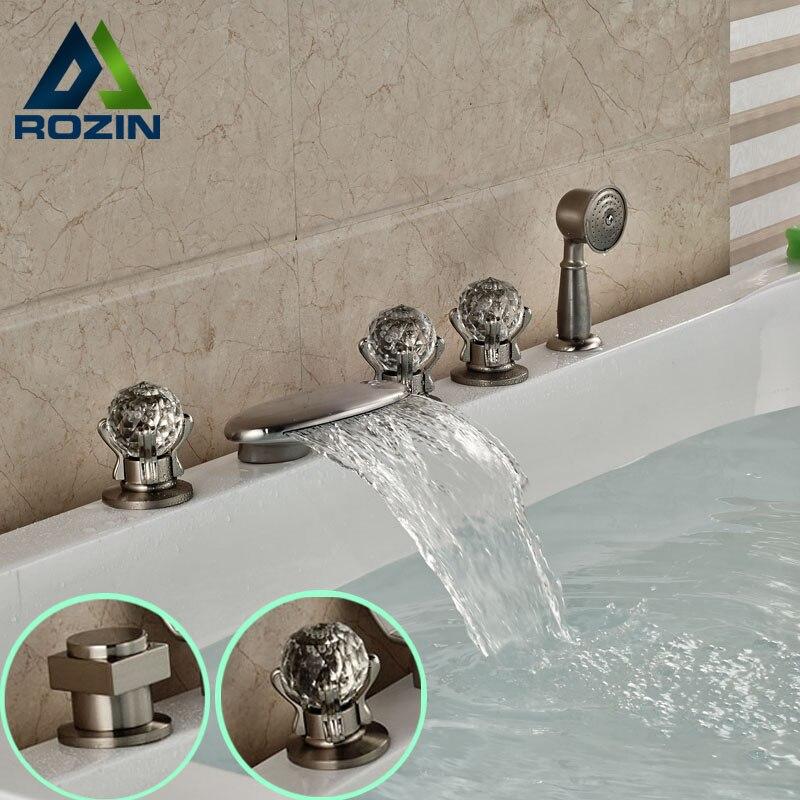 Popular Brushed Nickel Bathtub Faucets Buy Cheap Brushed Nickel
