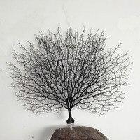 1pcs Simulation sea tree iron tree sea branches black iron tree home decoration crafts fish tank platform decoration