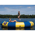 water trampoline 5 M diameter 0.9mm PVC inflatable trampoline or inflatable bouncer