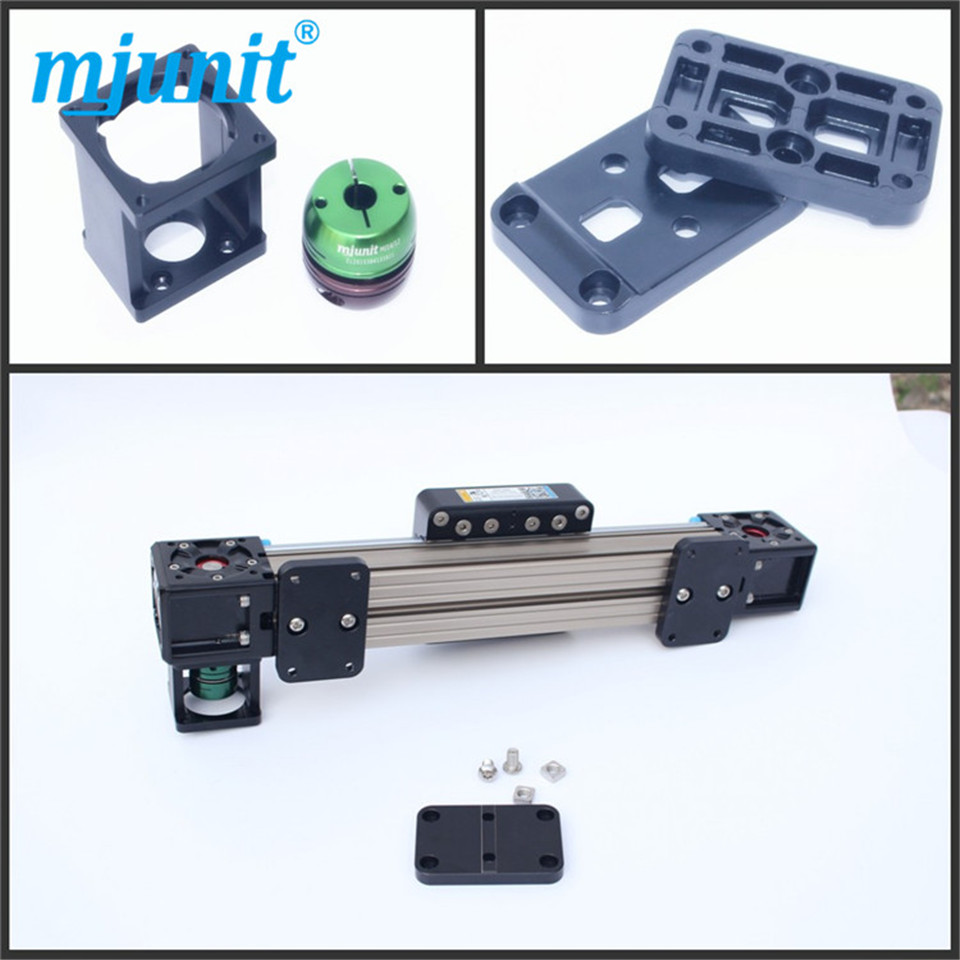 Linear Bearing Rails Belt drive linear actuator Diy linear rail belt driven linear slide rail belt drive guideway professional manufacturer of actuator system axis positioning