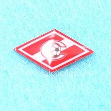 Металлические Футбольные команды болельщиков офсетные значки с принтом Нагрудный значок Pin сумки значок подарки с эпоксидной 18 мм* 2 шт