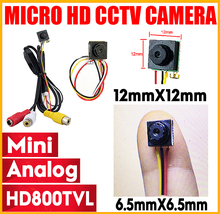 цена на New HD 800TVL 8*8MM mini Analog DIY Module cctv Camera Home Security Surveillance cctv camera FPV CMOS Camera free shipping