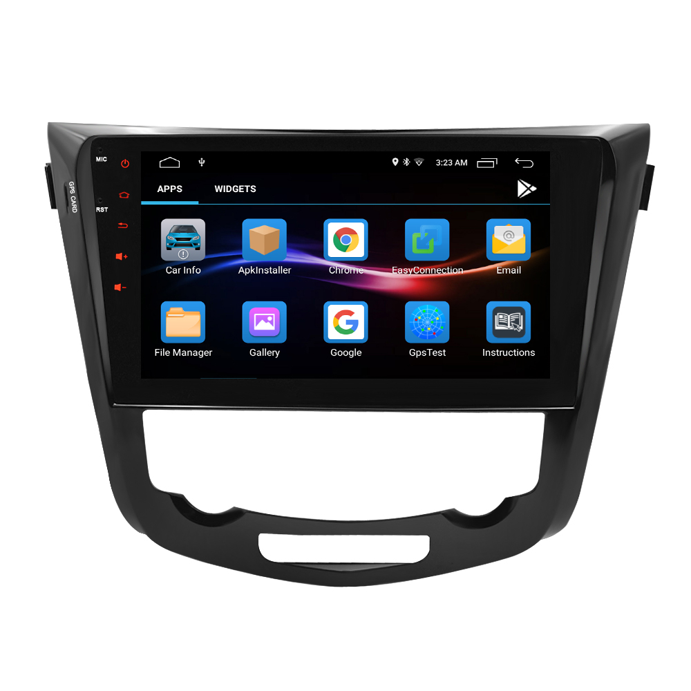 Image 3 - Android 9.1 IPS Screen Car Stereo for Nissan X Trail Qashqail 2014 2017 DVD Player 2 Din Radio Video GPS Navigation Multimedia-in Car Multimedia Player from Automobiles & Motorcycles
