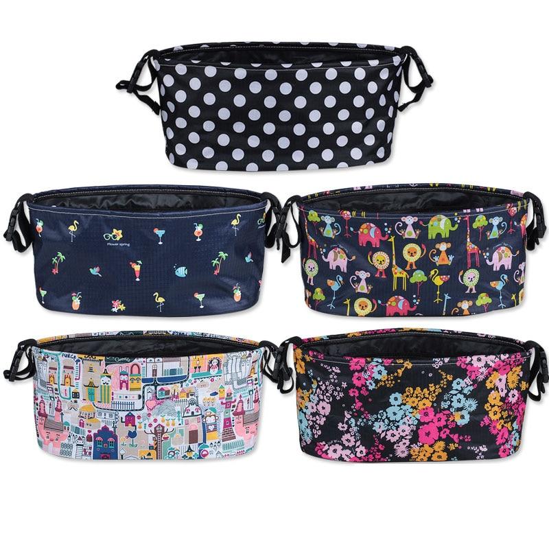 Baby Stroller Bag Child Care Storage Bag Baby Travel Diaper Bag Sung Shoulder Baby Stroller Accessories Mummy Bag