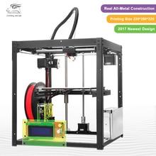 2017 Date Full metal Flyingbear-P905 DIY 3d Imprimante kit Haute Qualité Précision Auto nivellement Makerbot Structure Cadeaux