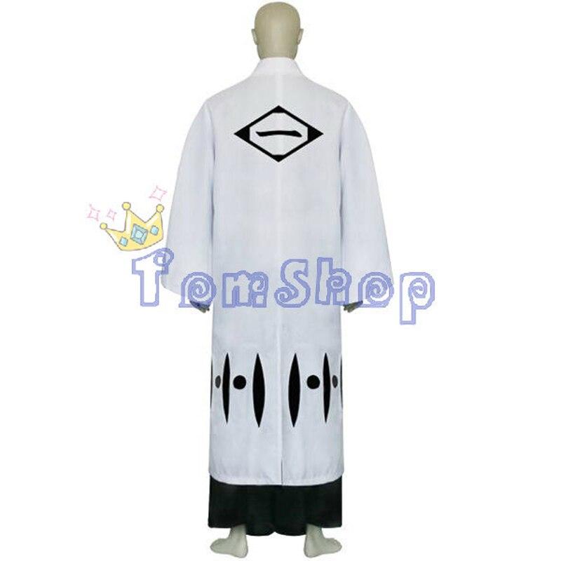 Bleach 1st Division Captain Yamamoto Genryusai Shigekuni Cosplay Kimono Uniform Suit Full Set Men's Costumes With Sandals